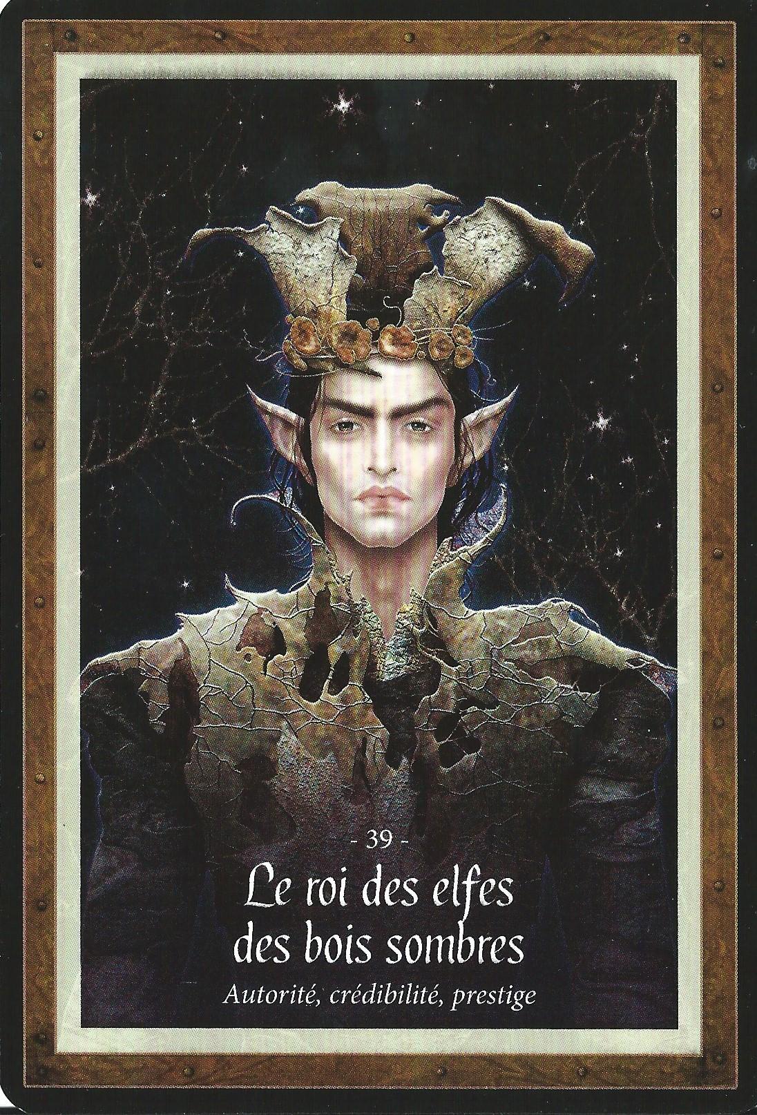 39 le roi des elfes des bois sombres