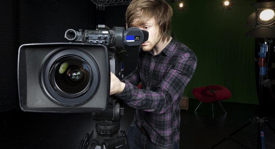Angle de vue camera clip video