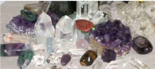 Cristaux pierres