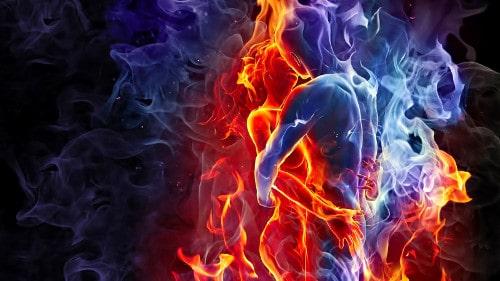 Flamme jumelle