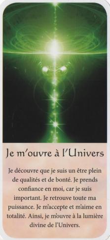 Je m ouvre a l univers