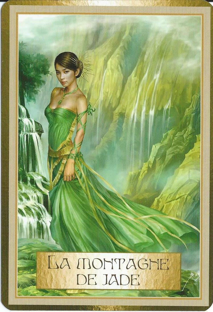 La montage de jade